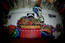 Trip to the Skatebarn with Mike Metzger