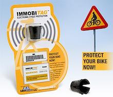 Immobi Tag - Help protect your bike!
