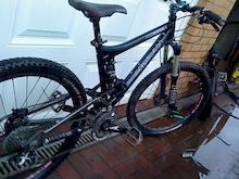 My bike nice and clean