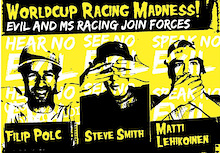 EVIL and MS RACING join forces - Worldcup racing madness!