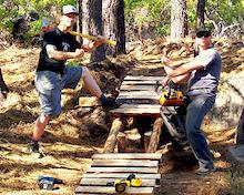 Central Oregon Trail Progression