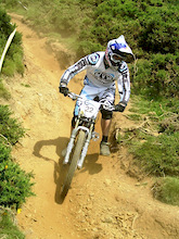 Easter Bunny Action at the Reaction Moelfre DH Race - Wales