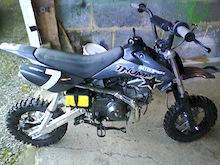 Bedfordshire Mad Biker Thumpstar Pit Bike