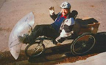 You can try cycling - - sitting down