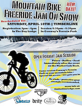 On Snow Jam at Timberline Ski Area April 18th
