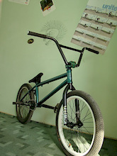 my ride withe new parts: Federal 2009 Pivotal Seat, Animal Ham PC pedals, front rim Eastern Element stock.