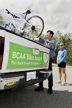 BCAA's famous roadside assistance now available for cyclists