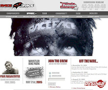 Race Face launches their 2005 web site