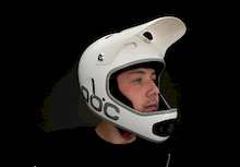 POC Cortex DH Helmet - Double layer protection.