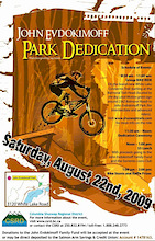John Evdokimoff Park Dedication Aug.22
