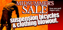 Calgary Cycle Midsummer Sale!