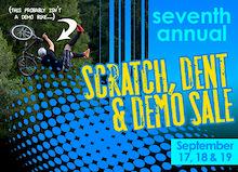 7th Annual Scratch, Dent & Demo Sale