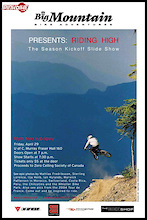 Big Mountain Adventures Slide Show - CALGARY APRIL 29th
