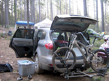 time to race and camp