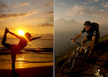 Mountain Bike and Yoga with Sacred Rides?