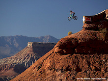 Oakley Icon Sender at the Red Bull Rampage