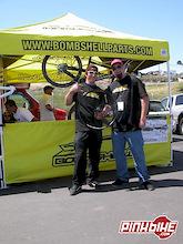 Bombshell signs Darren