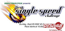 2nd Annual Single Track Cycle Single Speed Race