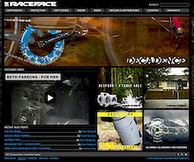 Race Face launches progressive new website for 2010