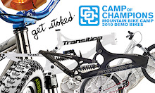 Sick New Bikes at The Camp of Champions
