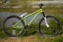 Fezzari 801 DJX1 Dirt Jump Bike Check - Sea Otter 2010