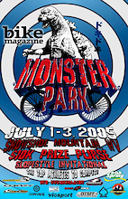 The World's Best Freeriders Charge Bike Magazine Monster Park Slopestyle Invitational at Snowshoe Mountain