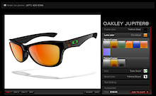 Oakley Custom Program - Same Great Glasses, Custom Colors!