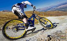 Team CRC/Nukeproof rider Matt Simmonds
