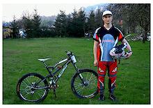 me and my bike for 2010 season, many thanks to my sponsor www.CYKLOTUR.com  photo thanks to Sylwia Łatanik