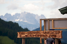 Leogang DH Course Walk
