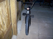 properbikeco federal bars fit blade forks fit faf tyres propfile cranks shadow con chain profile front hub on hazard rim proper rear hub on hazard rim odi grips proper stem odyssey pedals and soso