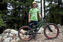 Sam Pilgrim's Prototype Diamondback Slopestyle Bike!