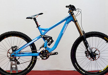 2011 Commencal Supreme DH Prototype - Eurobike 2010