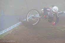 UCI World Championships Mont Saint Anne - Crash Reel