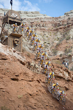 Red Bull Rampage Video: Riders On Course!