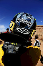 Mike Hopkins at Red Bull Rampage