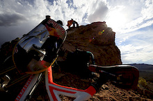 Darren Berrecloth Red Bull Rampage run on GoPro cam.