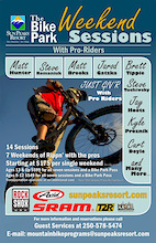 Ride with the Pros at Sun Peaks during the all new