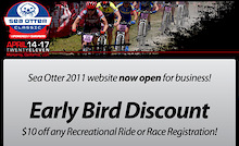 Sea Otter Classic Registration - Early Bird Discount