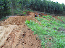 2011 Pietermaritzburg World Cup Downhill Course Building Pictures