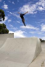 Old school no hander  Rider - Alex Nolan  Copyright Lawrencephotog