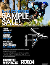 Rags for Rippers Sample Sale! Vancouver, B.C.