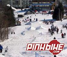 Biker-X Snow series at Mt. St. Anne