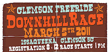 Clemson Freeride's DH Race - March 5th