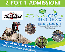 1st Annual Vancouver Bike Show - March 19/20