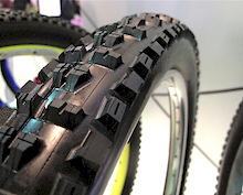 Prototype Maxxis Downhill Tire - Taipei Cycle Show 2011