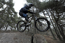 Nice day of downhill riding in a snow free Gothenburg  Photo: Magnus Schmidt