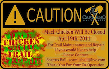 Mach Chicken Trail Day and BBQ - Sunshine Coast