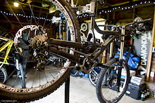 Diamondback's Prototype DH Race Bike