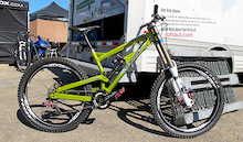 Tomac Primer 200 DH bike - Sea Otter 2011
